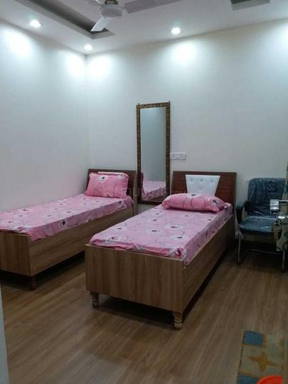 Bedroom Image of Andhra PG in Malviya Nagar