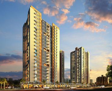 Gallery Cover Image of 900 Sq.ft 2 BHK Apartment for buy in Pyramid Atlante, Tathawade for 6400000