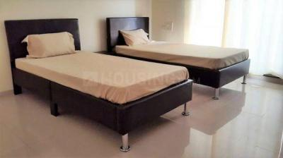 Bedroom Image of Fully Furnished Paying Guest Accommodation For Males & Females At Powai Hiranandani Garden in Powai