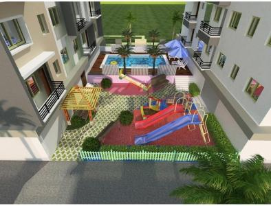 Gallery Cover Image of 1421 Sq.ft 3 BHK Apartment for buy in Kankarbagh for 9947000