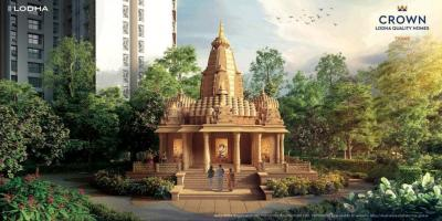 Gallery Cover Image of 677 Sq.ft 2 BHK Apartment for buy in Lodha Majiwada Tower 5, Thane West for 8900000