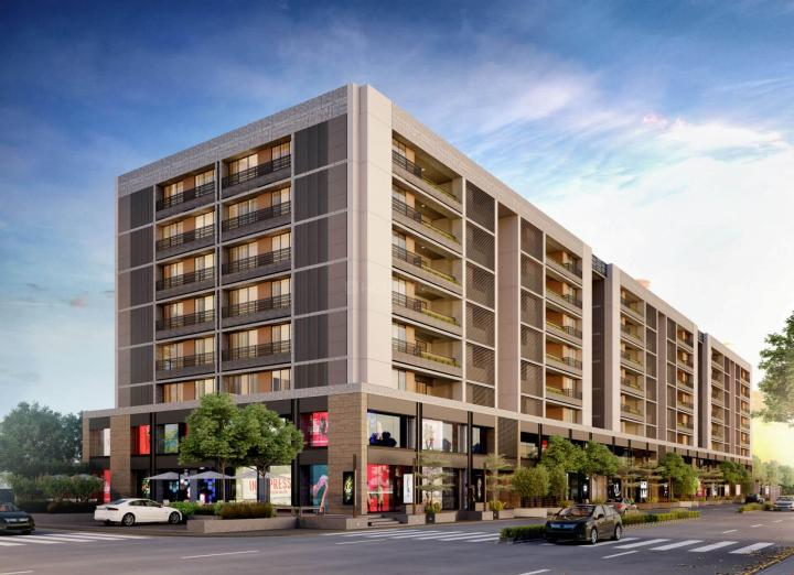 Building Image of 3272 Sq.ft 4 BHK Apartment for buy in Shivalik Avenue, Bodakdev for 20300000