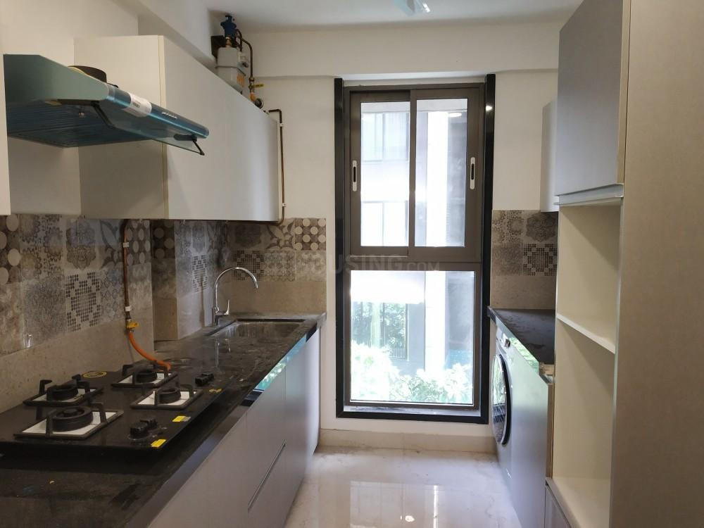 Kitchen Image of 1000 Sq.ft 2 BHK Apartment for rent in Bandra West for 100000