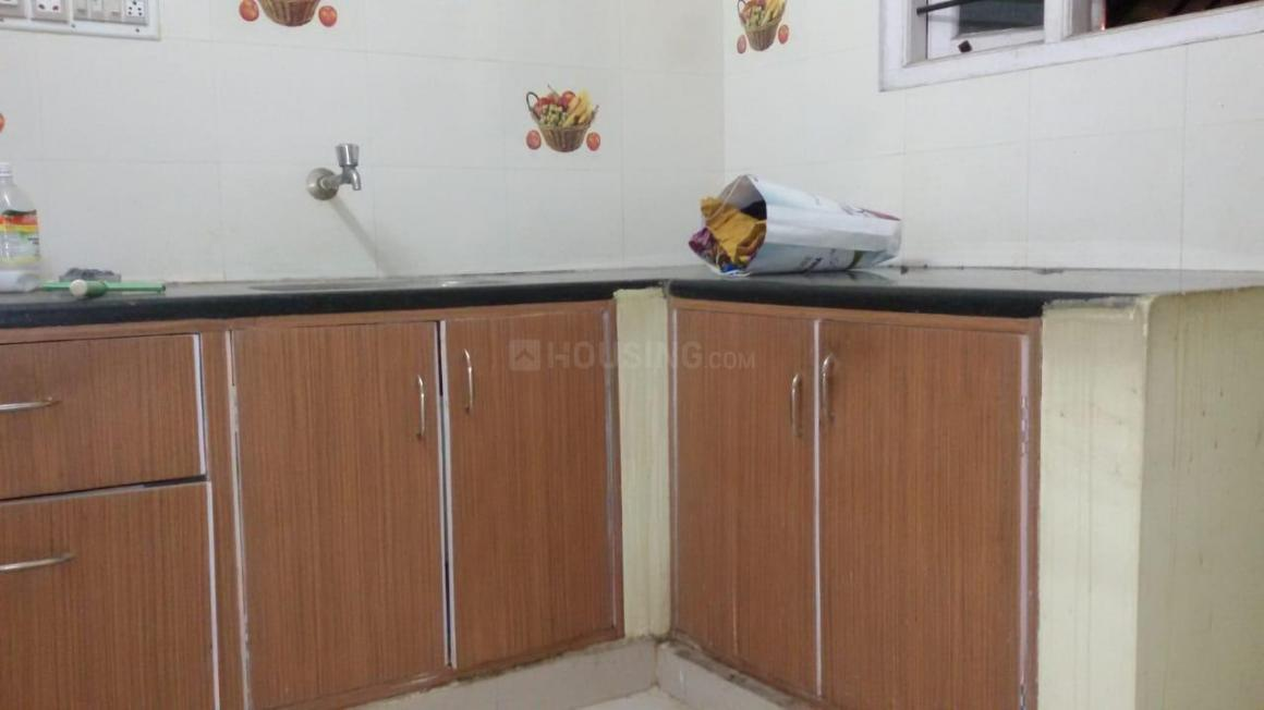 Kitchen Image of 550 Sq.ft 1 BHK Independent House for rent in Hennur for 10000