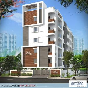 Gallery Cover Image of 2045 Sq.ft 3 BHK Apartment for buy in Puppalaguda for 9100000