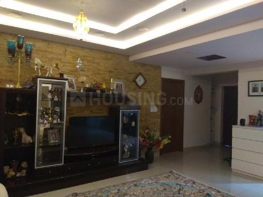 Living Room Image of 1973 Sq.ft 3 BHK Apartment for rent in Harlur for 60000