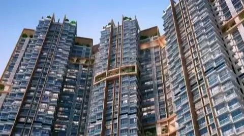 Building Image of 981 Sq.ft 2 BHK Apartment for buy in Wadhwa Atmosphere Phase 1, Mulund West for 17000000