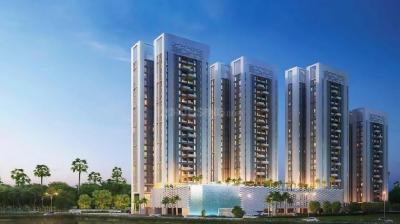 Gallery Cover Image of 1435 Sq.ft 3 BHK Apartment for buy in Merlin 5th Avenue, Salt Lake City for 17500000