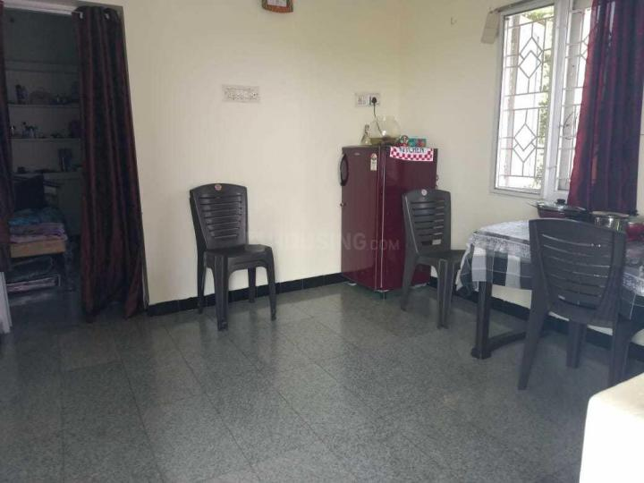 Living Room Image of 555 Sq.ft 1 BHK Independent Floor for rent in Murugeshpalya for 11000
