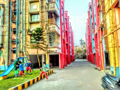 Gallery Cover Image of 557 Sq.ft 2 BHK Apartment for buy in Narendrapur for 1500000