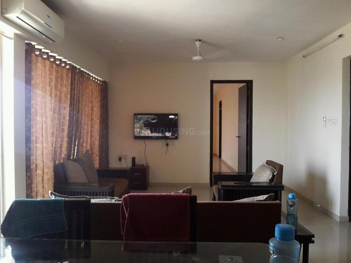 Living Room Image of 2500 Sq.ft 4 BHK Apartment for rent in Kharghar for 65000
