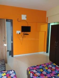 Bedroom Image of 450 Sq.ft 1 RK Independent Floor for rent in Hinjewadi for 6000