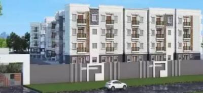 Gallery Cover Image of 1245 Sq.ft 2 BHK Apartment for buy in Elegant Exquisite, RR Nagar for 5913750