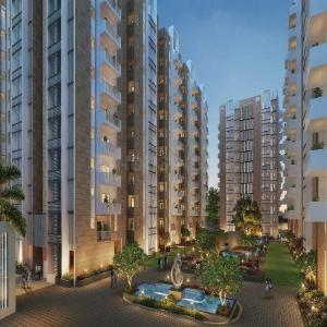Gallery Cover Image of 1940 Sq.ft 3 BHK Apartment for buy in Ambience Courtyard, Manikonda for 12600000