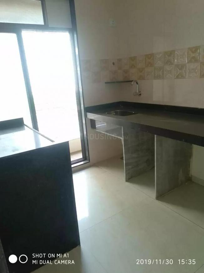Kitchen Image of 625 Sq.ft 1 BHK Apartment for rent in Karanjade for 6500