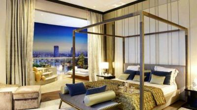 Gallery Cover Image of 2200 Sq.ft 3 BHK Apartment for rent in Beaumonde Towers, Prabhadevi for 500000