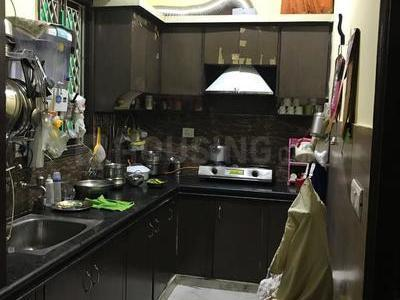 Kitchen Image of 1080 Sq.ft 2 BHK Apartment for rent in Ahinsa Khand for 17000