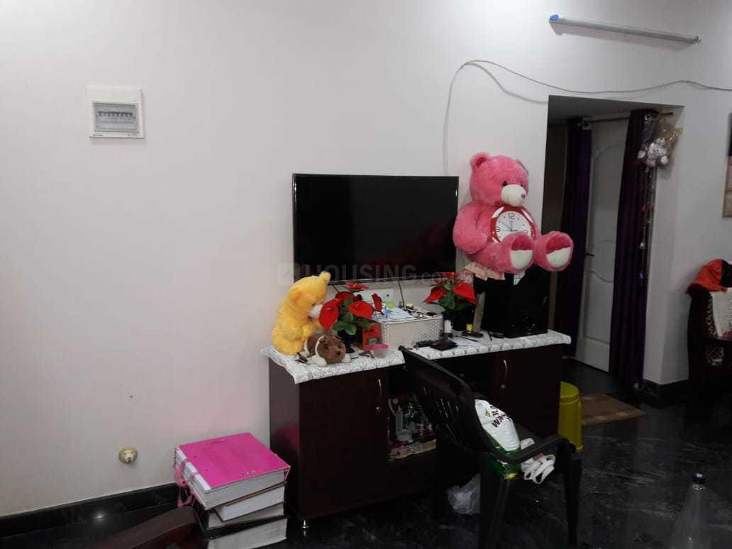 Living Room Image of 1100 Sq.ft 3 BHK Independent House for rent in Vidyaranyapura for 18000