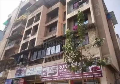 Gallery Cover Image of 620 Sq.ft 1 BHK Apartment for rent in Brahmand Greenfield, Kharghar for 12000