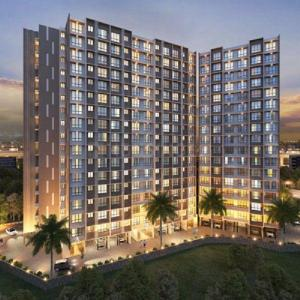 Gallery Cover Image of 440 Sq.ft 1 BHK Apartment for buy in Veena Senterio, Chembur for 9990000