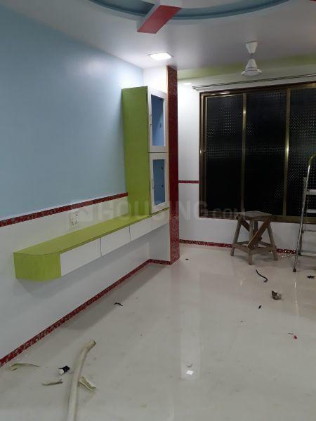 Living Room Image of 1000 Sq.ft 2 BHK Independent Floor for rent in Kopar Khairane for 25000