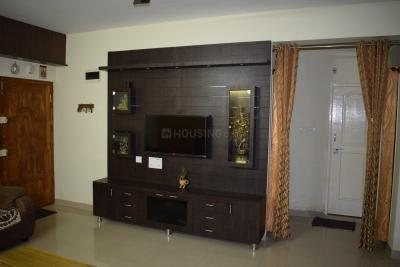 Gallery Cover Image of 1560 Sq.ft 3 BHK Apartment for rent in NCN Diamond, Amrutahalli for 25000
