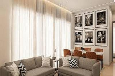 Gallery Cover Image of 1200 Sq.ft 2 BHK Apartment for buy in S Raheja New Light, Khar West for 54300000
