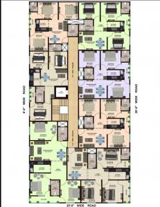 Gallery Cover Image of 405 Sq.ft 1 BHK Apartment for buy in Jamia Nagar for 1600000