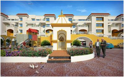 Gallery Cover Image of 1245 Sq.ft 3 BHK Apartment for buy in Lohegaon for 6400000