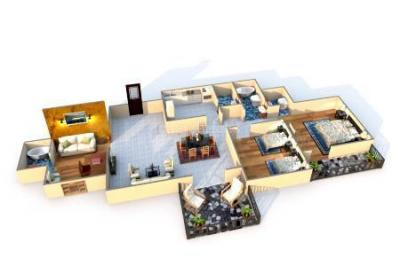 Gallery Cover Image of 2950 Sq.ft 4 BHK Apartment for buy in Kharadi for 23500000