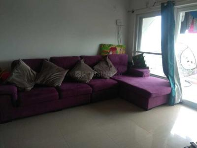Gallery Cover Image of 1200 Sq.ft 2 BHK Apartment for rent in Hebbal for 42000