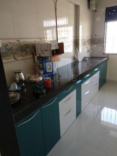 Kitchen Image of 650 Sq.ft 1 BHK Apartment for rent in Borivali West for 23000