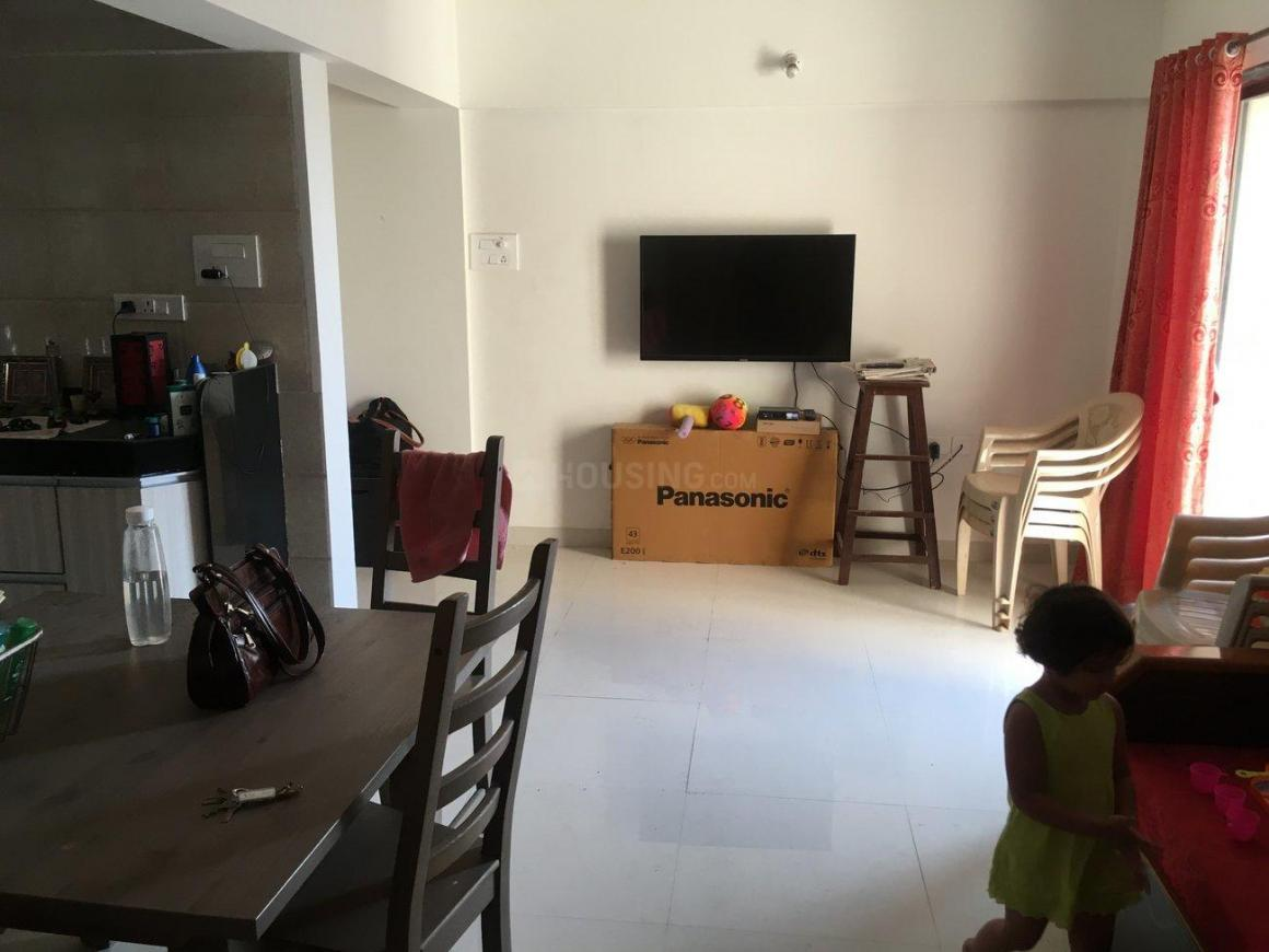 Living Room Image of 700 Sq.ft 1 BHK Apartment for rent in Dhayari for 10000