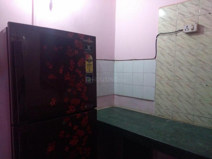 Kitchen Image of 515 Sq.ft 1 BHK Apartment for rent in Kopar Khairane for 16500
