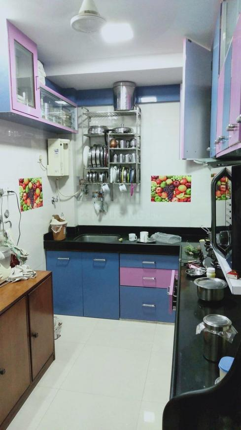 Kitchen Image of 1000 Sq.ft 2 BHK Apartment for rent in Vashi for 35000