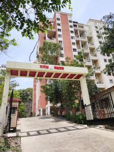 Gallery Cover Image of 850 Sq.ft 1 BHK Apartment for rent in Ganesh Nakshatram, Dhayari for 10000