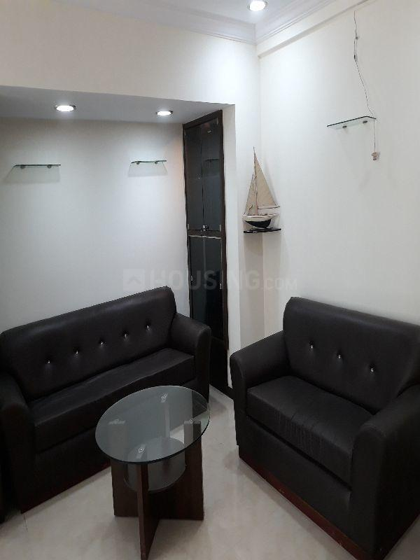 Living Room Image of 1000 Sq.ft 2 BHK Apartment for rent in Borivali West for 34000