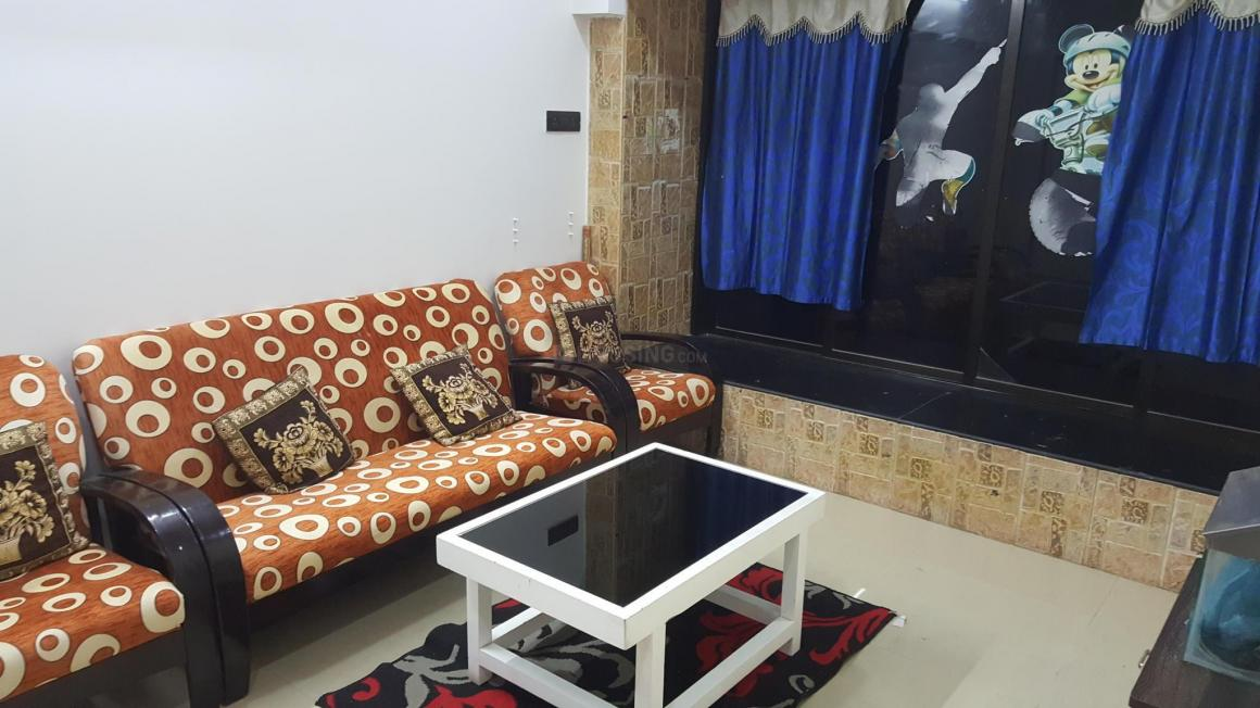 Living Room Image of 800 Sq.ft 2 BHK Apartment for rent in Kalyan West for 42000