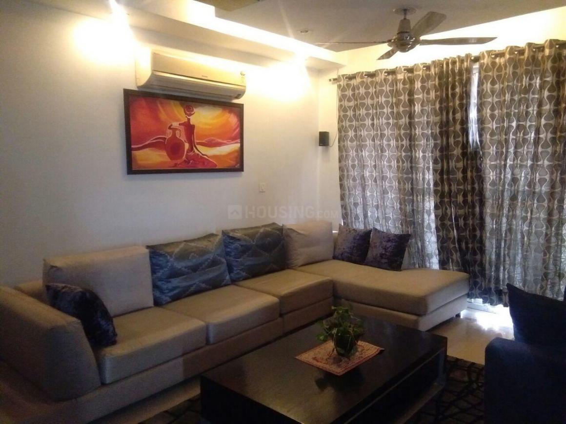 Living Room Image of 2000 Sq.ft 3 BHK Independent Floor for rent in Sector 38 for 42000
