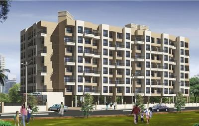 Gallery Cover Image of 680 Sq.ft 1 BHK Apartment for rent in Shree Samartha Niraj City Phase II, Kalyan West for 7500