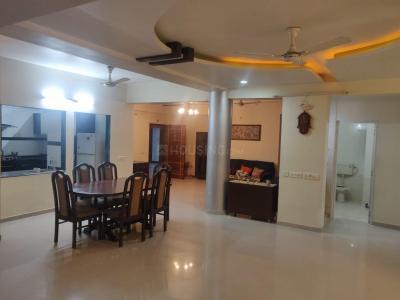 Gallery Cover Image of 3195 Sq.ft 4 BHK Apartment for rent in Sheladia Prayag Residency, Bodakdev for 65000