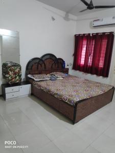 Bedroom Image of Peacevilla PG in Prahlad Nagar