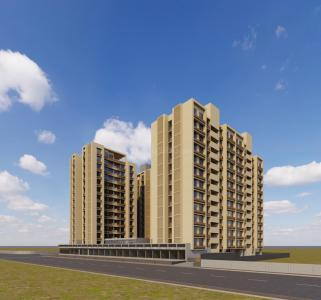 Gallery Cover Image of 1200 Sq.ft 2 BHK Apartment for buy in Bopal for 3918000