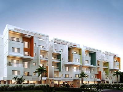 Gallery Cover Image of 1481 Sq.ft 3 BHK Apartment for buy in Perungudi for 9758000