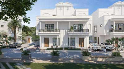 Gallery Cover Image of 4653 Sq.ft 4 BHK Villa for buy in Radhe Vrundavan Villa, Raysan for 26100000