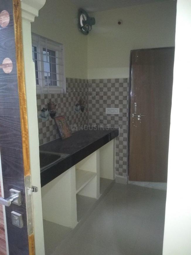Kitchen Image of 600 Sq.ft 1 RK Independent Floor for rent in Kondakal for 10000