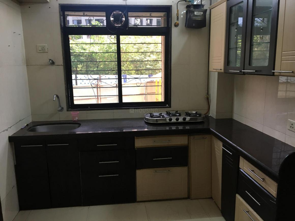 Kitchen Image of 1350 Sq.ft 3 BHK Apartment for rent in Chembur for 65000