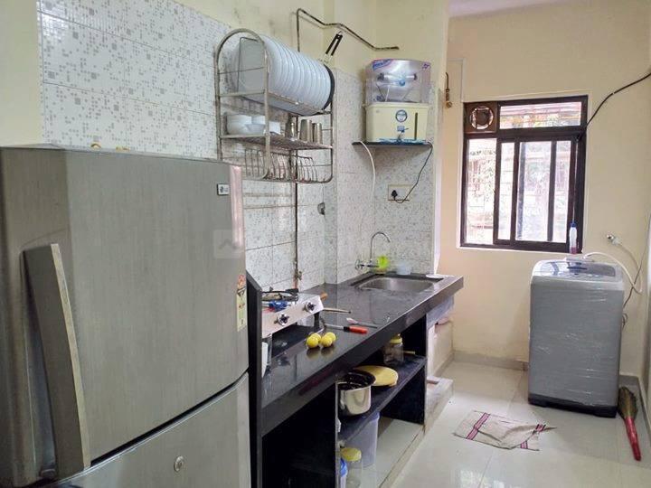 अंधेरी वेस्ट में कृष्ण प्रॉपर्टी में किचन की तस्वीर