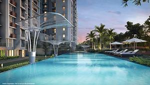 Gallery Cover Image of 1572 Sq.ft 3 BHK Apartment for buy in Godrej 101, Sector 79 for 9000000
