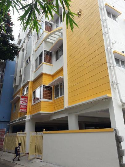 जेपी नगर में पद्मावती लेडिज पीजी में बिल्डिंग की तस्वीर